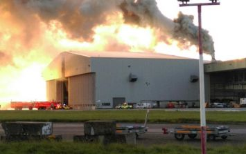 Flights grounded as crews tackle fire at Dublin Airport