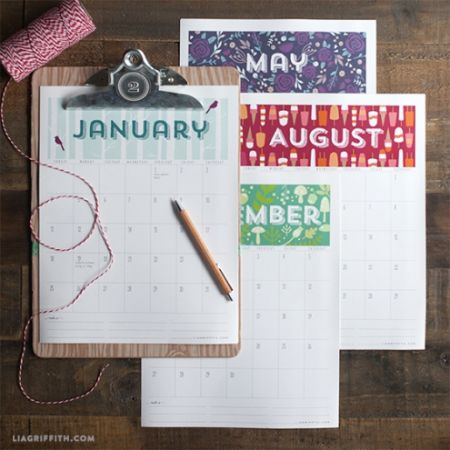 2015 calenders at liagriffith.com