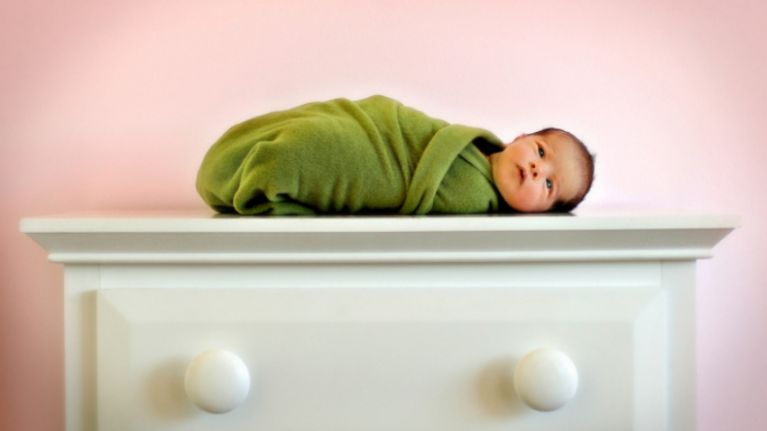All wrapped up: how to correctly swaddle your baby