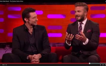WATCH: Even David Beckham is an embarrassing dad