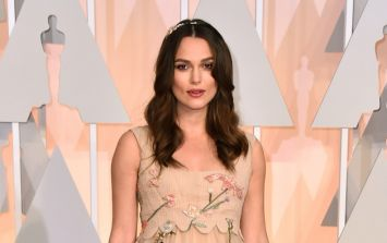 Blooming gorgeous: Keira Knightley shows how to dress her bump at the Oscars