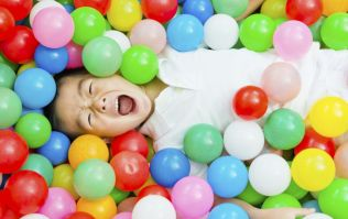 'No adults in the ball pit' unless you work at this inflatable theme park