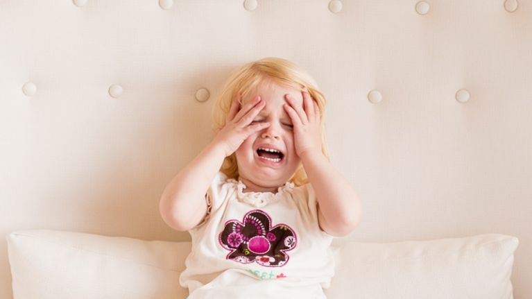 Toddler always throwing tantrums? It may mean they'll end up being rich