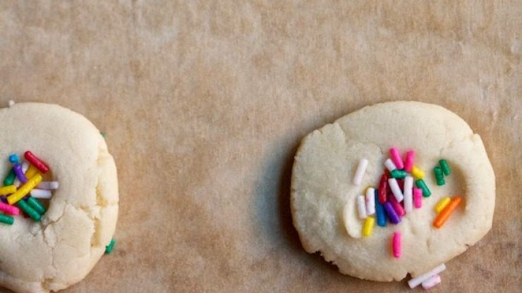 Indoor fun: 3-ingredient rainy-day cookies (and you're WELCOME!)