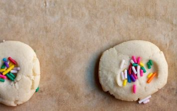 3-ingredient rainy-day cookies (and you're WELCOME!)