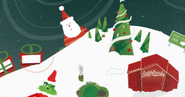 THIS is hands-down the coolest Santa experience to open yet