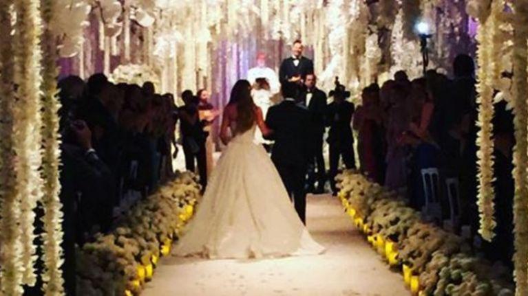 Sofia Vergara's wedding dress is divine