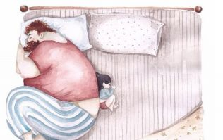 The Most Adorable Illustrations to Celebrate The Daddy Daughter Bond