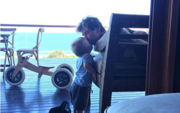 Chris Hemsworth Says He Braids His Daughter's Hair And Our Ovaries Just Melted