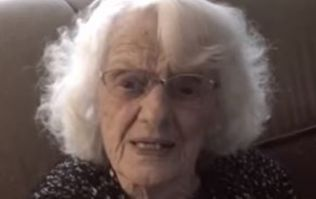 WATCH: The Moment a Woman (100) Finds Out Her Granddaughter Is Pregnant