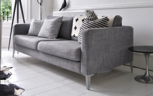 This tiny trick will make an Ikea sofa look so much more expensive