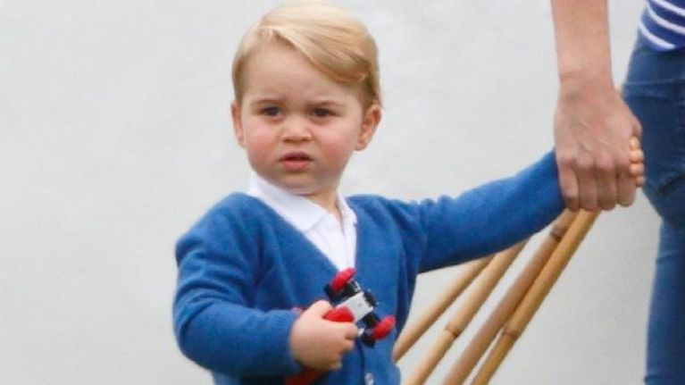 Prince George has been called a 'gay icon' - and people aren't happy