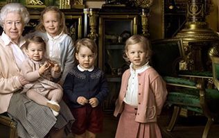 Young Royals Steal the Show in 'Gan Gan's' 90th Birthday Photos