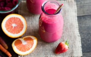 This pink super-smoothie is delicious – and just what your Monday morning needs