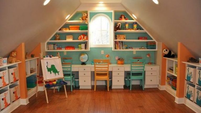 5 Awesome Attic Conversion Ideas That Will Win Your Kid S
