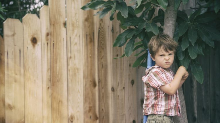 Four ways to deal with your child when they are being aggressive