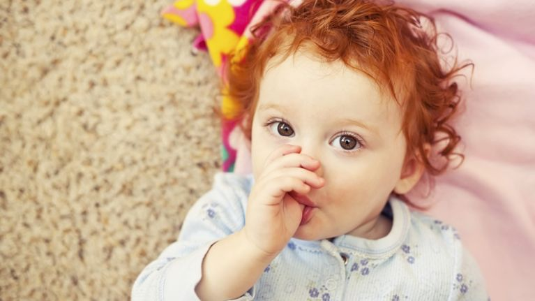 Why thumb-sucking could actually be good for kids