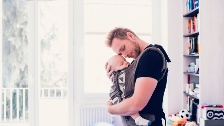 Ever heard of 'fathering down'? It could help get your baby to sleep