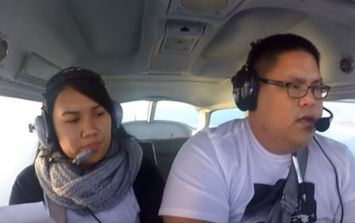 This Is a Mean Way to Pop The Question! (We Would Have Slapped Him... Had He Not Been Flying the Plane)