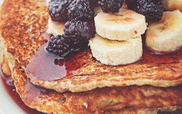 3-ingredient pancakes: the healthiest, most delish recipe EVER