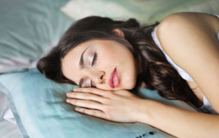 Sleeping like this is apparently very bad for your teeth
