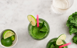 This green mojito-inspired smoothie will completely super-charge your mornings