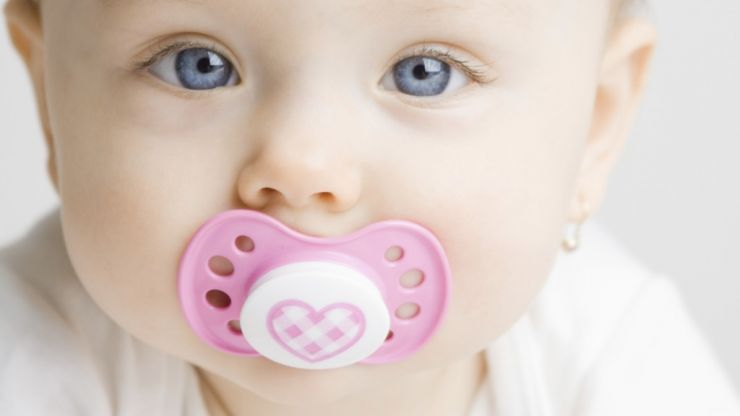 This mum's soother hack for a teething baby is absolutely genius