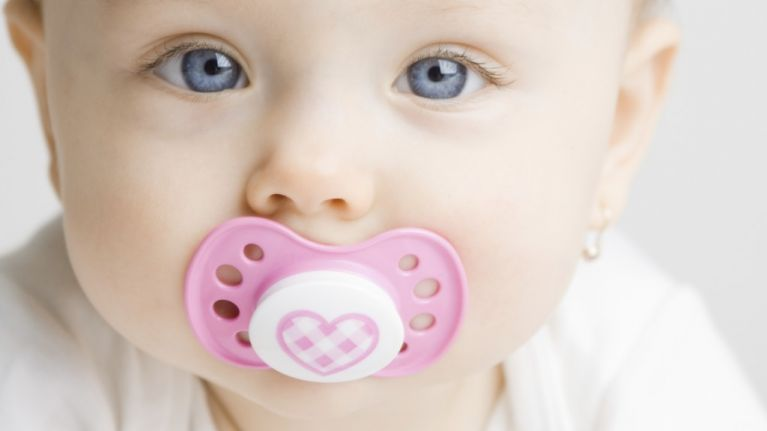 This mum's soother hack for a teething baby is totally genius