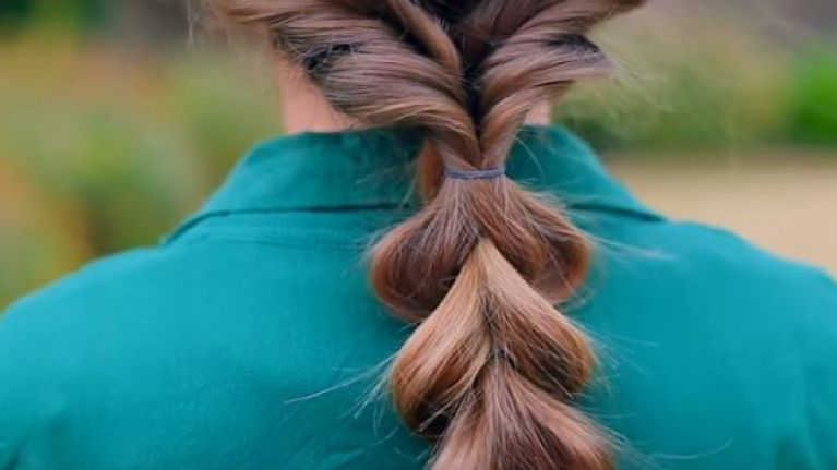 Check Out This Fun And Simple Hairstyle For Your Daughter
