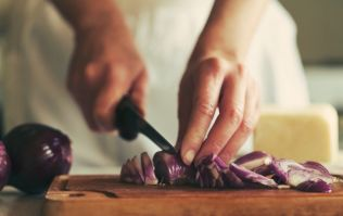 THIS is how you cut an onion without shedding a single tear