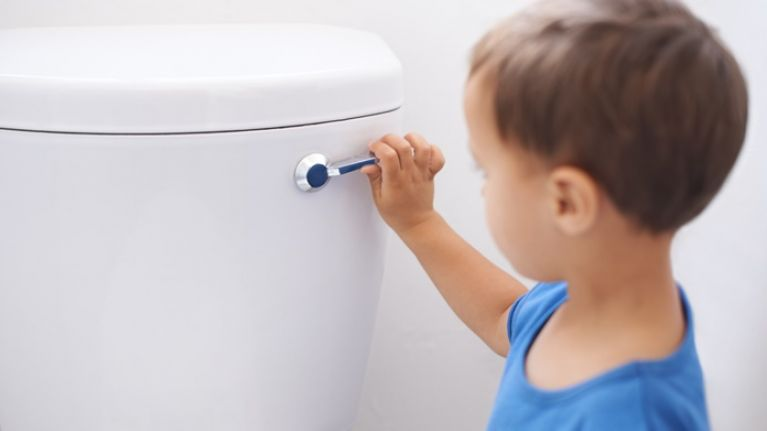 The New Toilet Training Gadget That ALL Boy Mamas Need