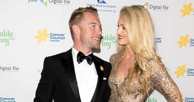Storm Keating shared an adorable family photo with baby Cooper