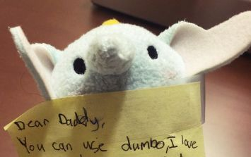 This note from a little girl to her daddy is the cutest thing you'll read today