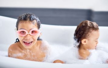 Older children and bathtime: at what age can you leave them unattended?