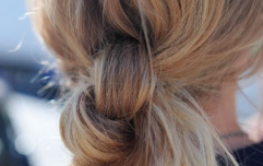 Apply dry shampoo the night before (instead of when you get up in the morning)