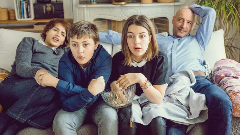 Struggling to connect with your teen? Watch telly together...