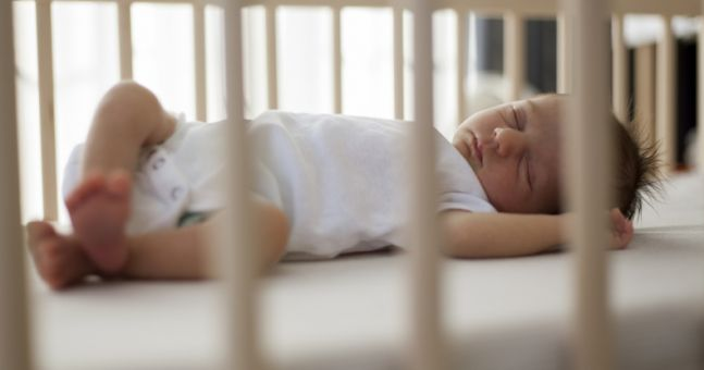 Babies who are put to bed too late are 50 percent more likely to become overweight