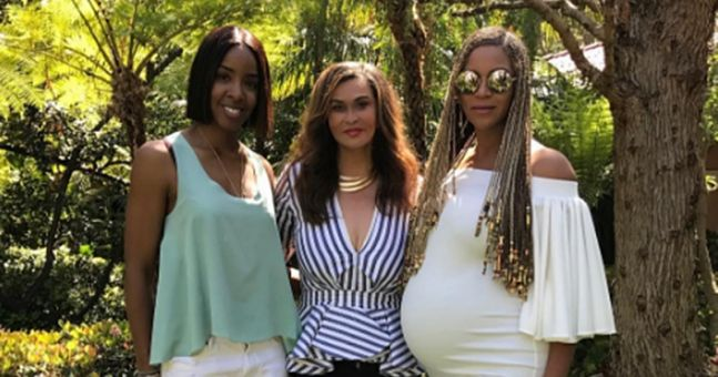 Fans are convinced Beyoncé's mum revealed the gender of her twins
