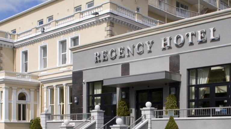 Dublin Fire Brigade helped a young mum deliver her baby in a hotel room