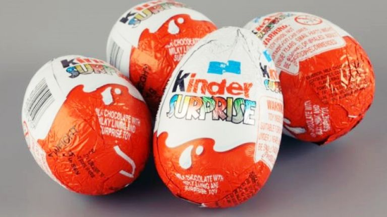This woman found an 'inappropriate' toy in her Kinder Egg