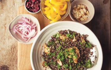 A gluten-free Summer Quinoa Salad for your weekend menu
