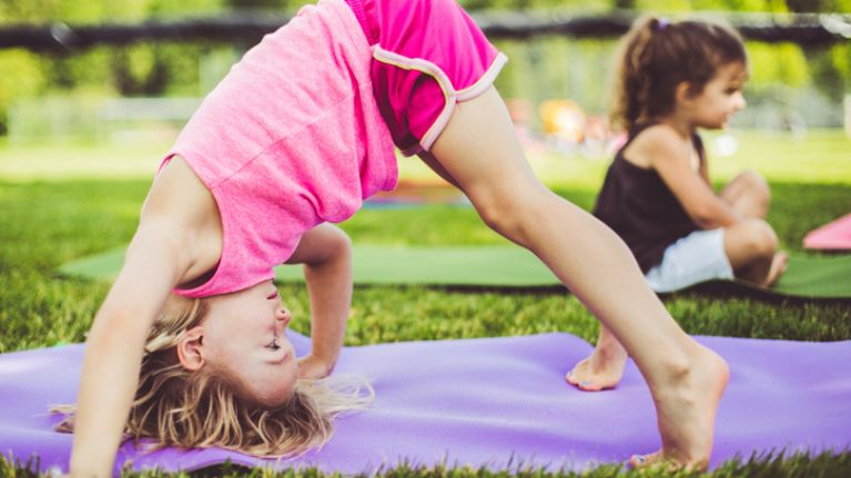 Get your inner Yogi on with these classic yoga positions for kids