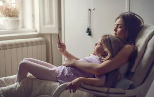 Some children think parents' addiction to their phones is harming family life