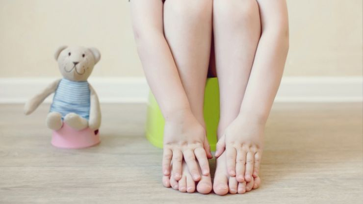 Toilet-training toddler boys and girls: the same... but also very different