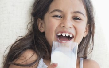 Children who drink full fat milk are less likely to end up overweight