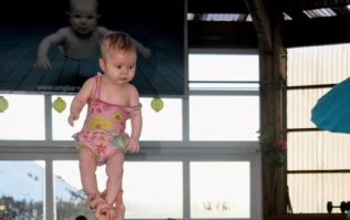 Babies can stand without support from just three months of age