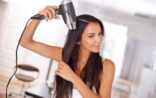 The handy tip that will perfect your DIY blow-dry