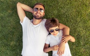 A study has found that dads are happier taking care of children than mums