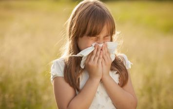 Here comes the sun, so here comes the hay fever...