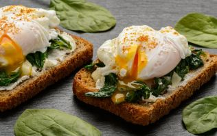 These quick microwave poached eggs are ideal if you're on the go